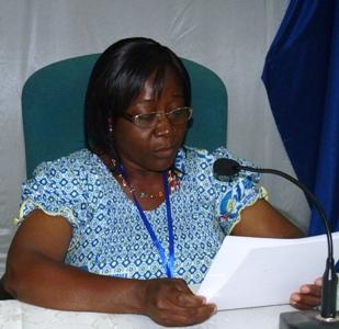 Discours d'ouverture de Mme CONFE, présidente du conseil national des laics