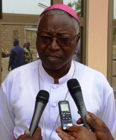 «Le travail de l'évangélisation est gratuit, désintéressé», Cardinal Philippe OUEDRAOGO