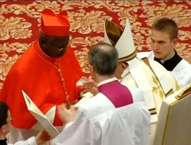 Cardinal Philippe OUEDRAOGO: oui au Pape même au péril de sa vie