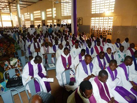 Récollection du presbytérium de Ouagadougou