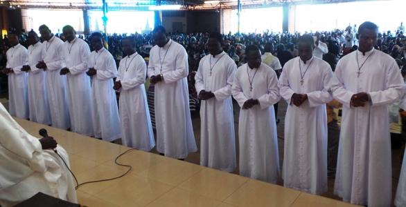Vœux chez les religieux de la Sainte Famille à Sâaba.