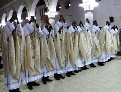 Ordinations sacerdotales à Ouagadougou