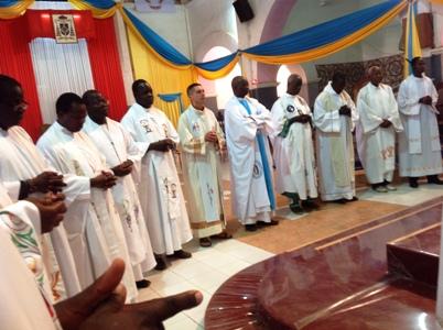 Les frères de la Sainte Famille en fête
