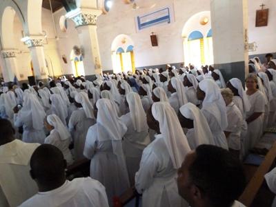 Ouverture de l'année de la Vie consacrée au sanctuaire Notre Dame de Yagma.
