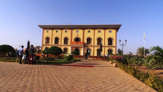 Inauguration de la nonciature du Burkina Faso