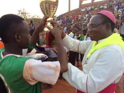 Diocèse de Koudougou: Un tournoi de football pour rassembler les jeunes