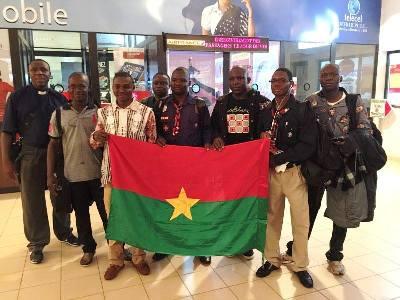 Dernier départ des Burkinabé aux JMJ de Cracovie 2016