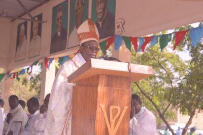 Mgr Thomas KABORE à la clôture du synode