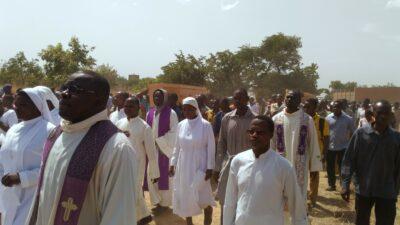 Assemblée des obsèques des deux religieuses