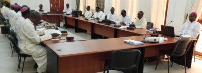 Les évêques du Burkina Niger en atélier