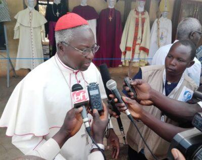 Le cardinal Philippe Ouédraogo à Koupéla