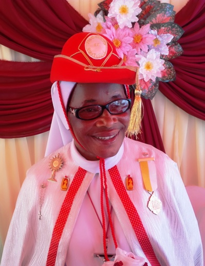Jubilé des 25 ans de vie religieuse de Sr Carol Osegbo AMAKA