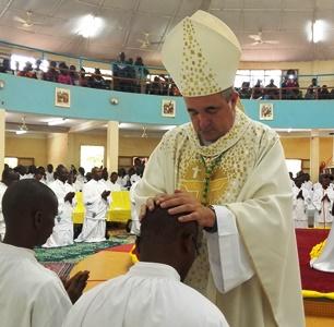 DIACONAT AU GRAND SÉMINAIRE SAINT JEAN-BAPTISTE DE OUAGADOUGOU