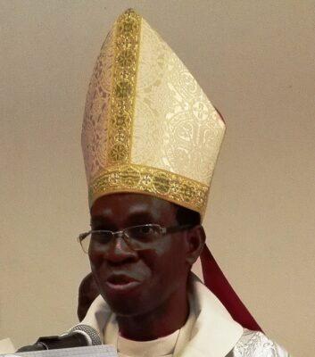 Mgr Modeste KAMBOU, évêque de Gaoua