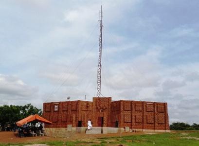 INAUGURATION / BENEDICT ION DE RADIO UNITAS A DIEBOUGOU