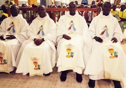 Ordination presbytérale 2017 à Ouagadougou