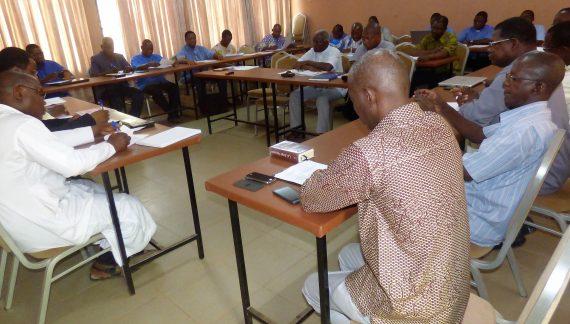 Fin du séminaire de formation des formateurs des grands séminaires au Burkina Faso