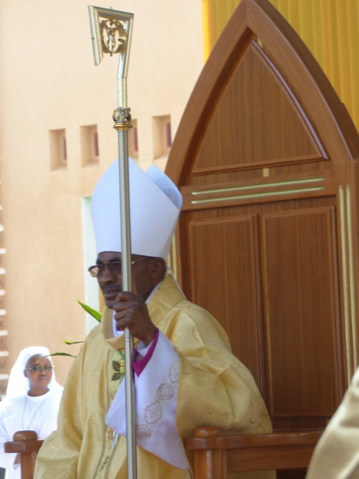 PRISE DE POSSESSION CANONIQUE DE MGR GABRIEL SAYAOGO