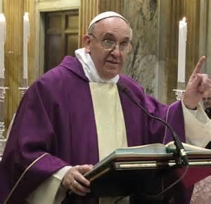 Homélie du Pape au Mercredi des Cendres (traduction intégrale)