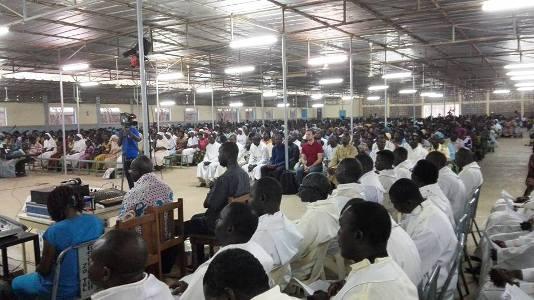 Célébration de la messe chrismale à Ouagadougou