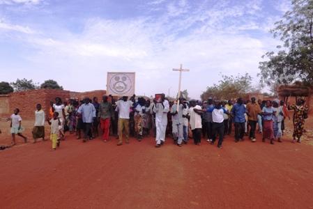 Retour aux sources de la paroisse de Téma-Bokin