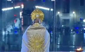 Prière pour la fin de la pandémie: L'homélie du Pape François